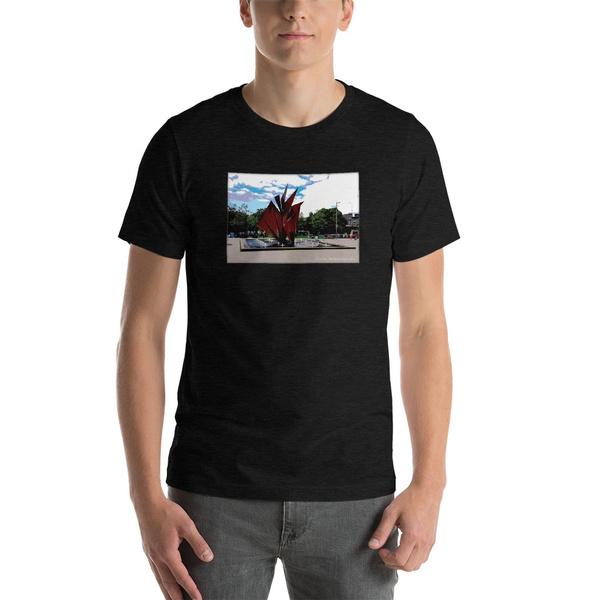 default, T Shirts, Fountain