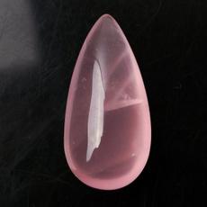 pink, water, quartz, polished