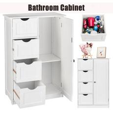 moistureproofcabinet, doubledoorscabinet, Bathroom, simplecabinet