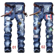 men's jeans, trousers, straightjean, Elastic