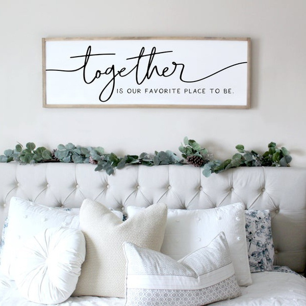 Together Bedroom Signs Quotes Wall Posters Love Quotes Print Wall Art Poster Wall Art Wall Decoration Living Room Wall Art Without Frames Wall Mural Wish