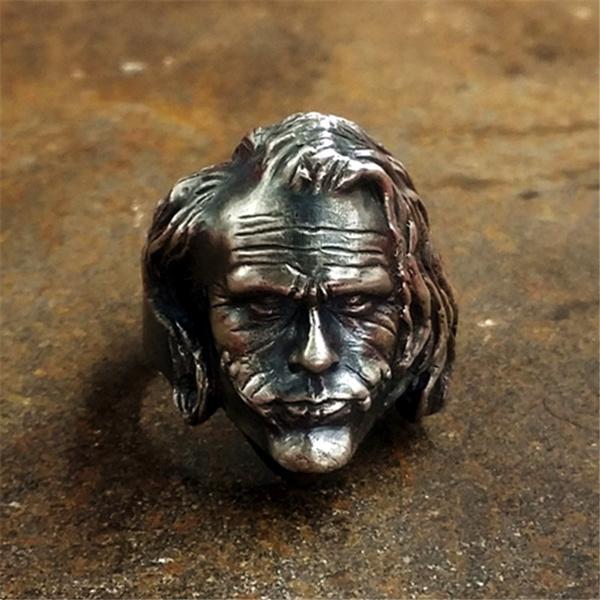ringsformen, jokerring, Stainless Steel, Men