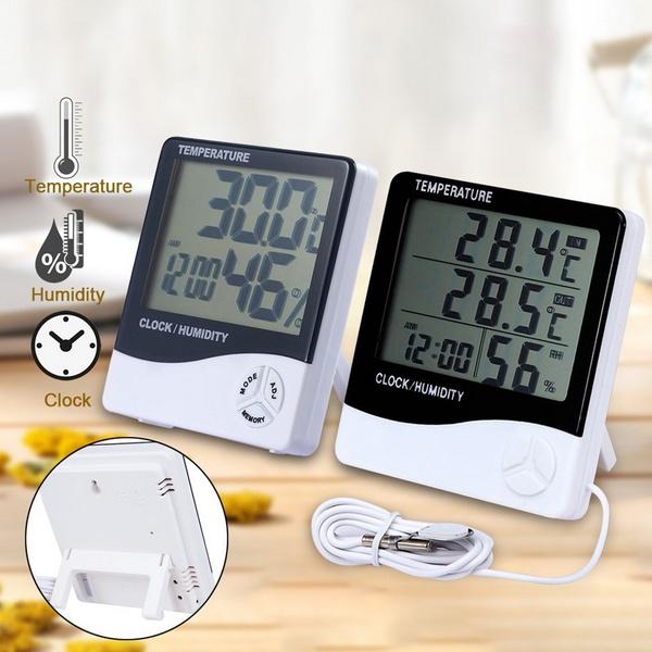 weatherthemometer, Indoor, Temperature, Clock