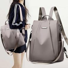 travel backpack, Shoulder Bags, Canvas, Waterproof