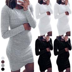 Maternity Dresses, Plus Size, sleeve dress, Shirt