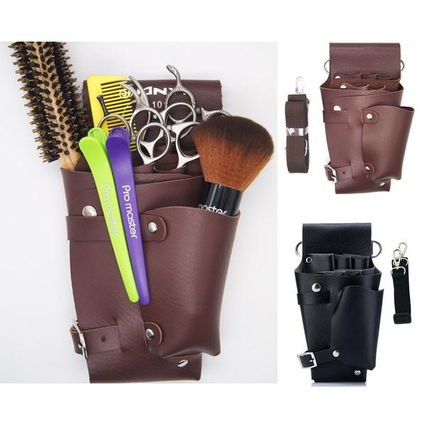 barberscissorsorganizer, hairdressingequipment, scissororganizer, leather