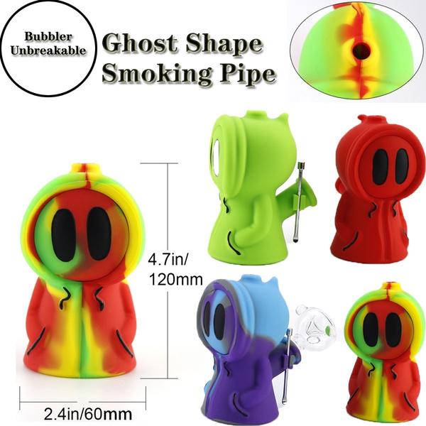 ghost, cute, tobaccosmoking, waxpipe