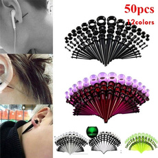 eargaugesplug, eargaugekit, Jewelry, acrylictaperset