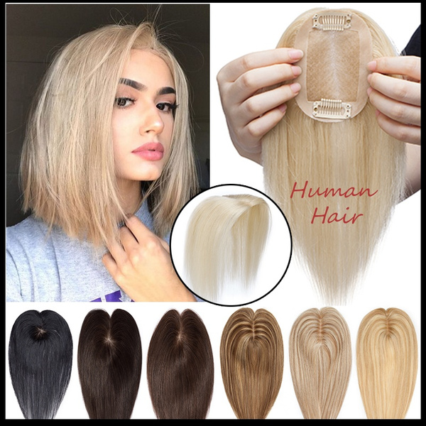 hairtopper, Hairpieces, Straight Hair, Hair Extensions