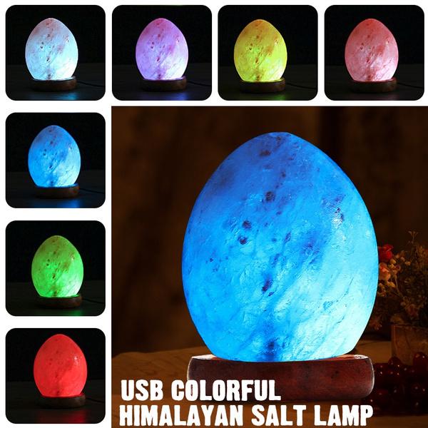 Light Bulb, Night Light, Home Decor, saltlamp