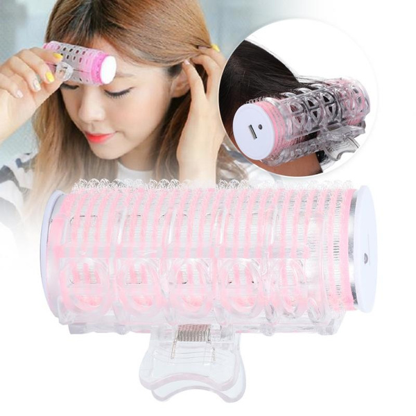 pink, Mini, Electric, Hair Rollers