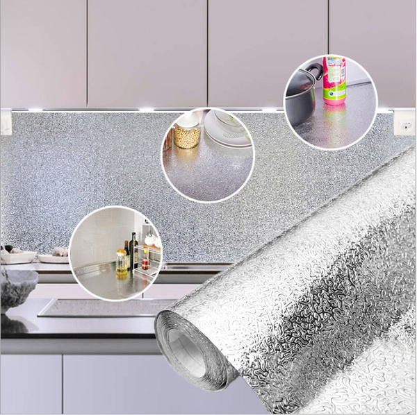 Kitchen, Kitchen & Dining, Wallpaper, Aluminum