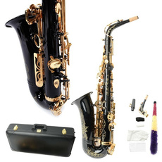 case, Brass, saxophonecase, gold