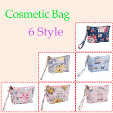 Flowers, Makeup bag, toiletryorganizer, Gifts