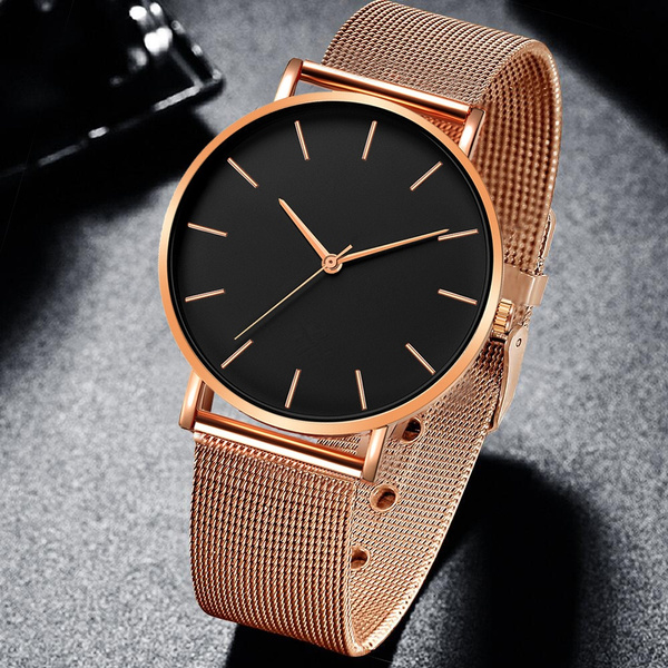 Fashion, rosegoldwatch, gold, Elegant