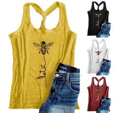 Summer, Cotton, Fashion, Tank