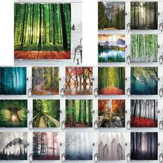 Tree, Bathroom, art, Print