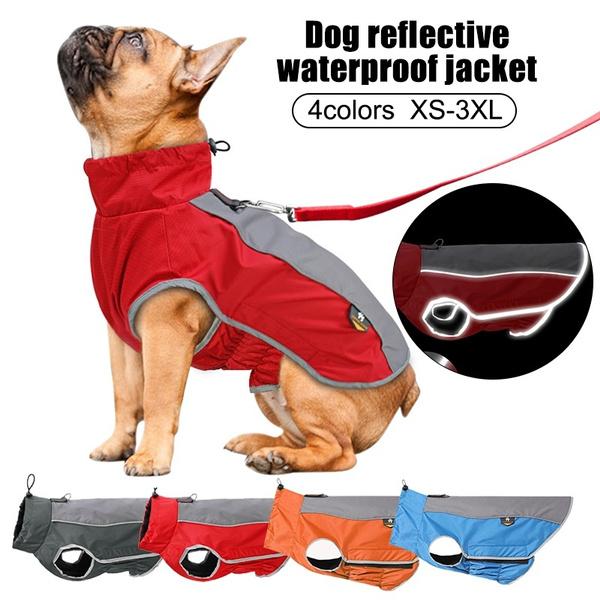 Fashion, Waterproof, reflectivewaterproofpetjacket, Dogs