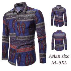 Fashion, nationalstyle, stitchingprinted, Sleeve