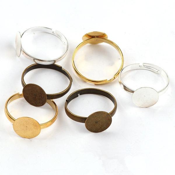 adjustablering, Jewelry, Materials, Metal