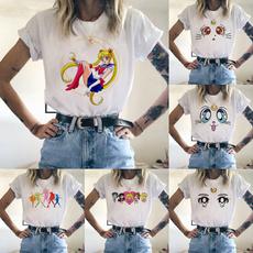 cute, Outdoor, shortseelve, short sleeves