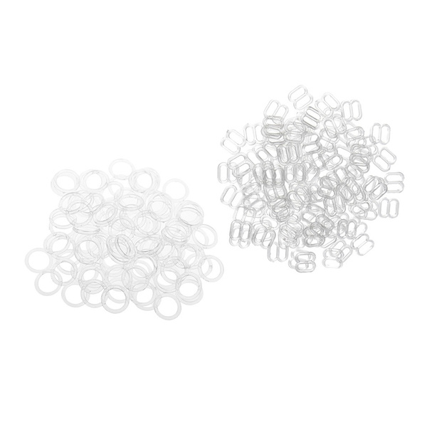 200piece, 8MM, Clear, Sewing