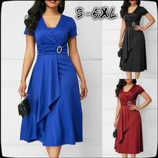 Plus Size, irregulardres, asymmetric, Dress