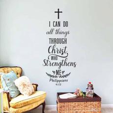 Christian, Stickers & Decals, Stickers, scripturequote