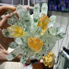 greenphantom, crystalcluster, quartz, Gifts