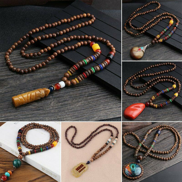 Wood, woodensweaternecklace, mennecklacechain, Jewelry