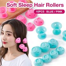 Hair Curlers, Magic, Hair Curler Roller, Silicone