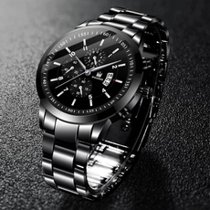 Fashion, Casual Watches, business watch, Stainless Steel