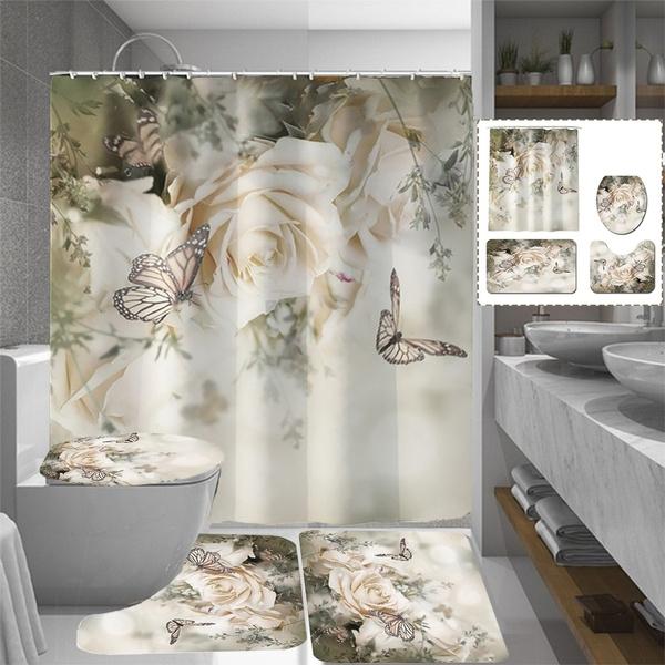 butterfly, Decor, bathroomdecor, nonslipmat