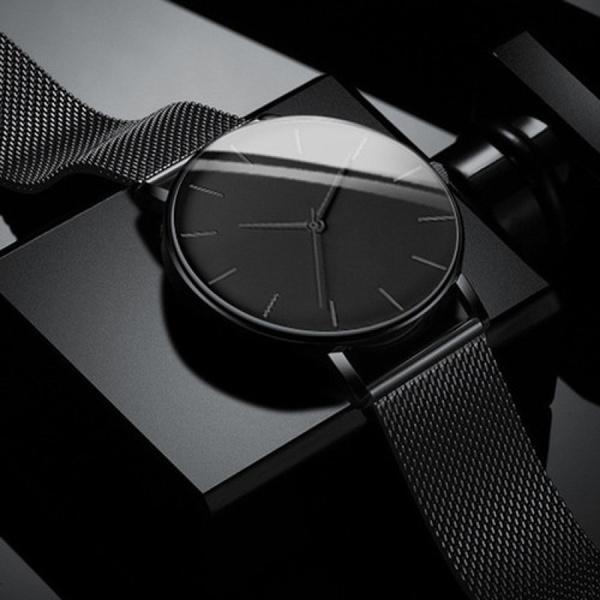 Steel, watchformen, ultrathinwatch, Men Business Watch