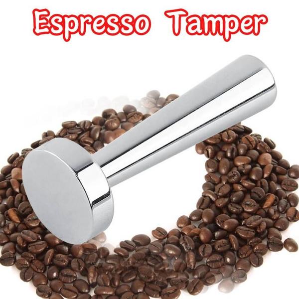Steel, Coffee, powderpres, espressotamper