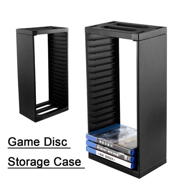 Universal Game Storage Showcase Tower Cd Game Holder Shelf Rack For Ps4 Slim Pro Wish
