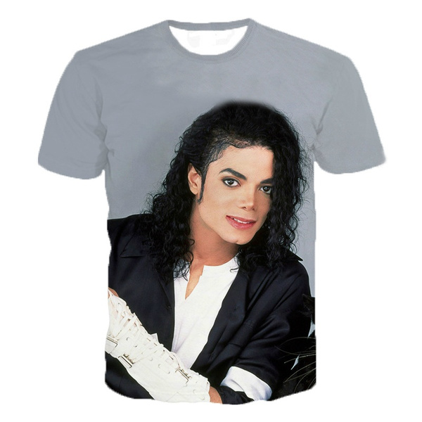 michaeljacksonshirt, Short Sleeve T-Shirt, Graphic T-Shirt, summer t-shirts
