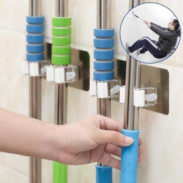 brushholder, Bathroom, holdersrack, mophanger