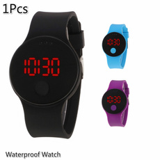 LED Watch, Men, silicone watch, Clock