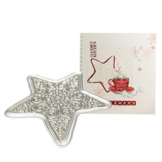 Star, Stamps, Metal, wreath