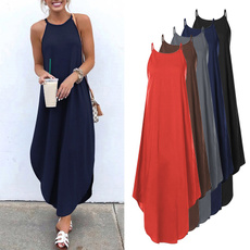sleeveless, Plus Size, vest dress, sundress
