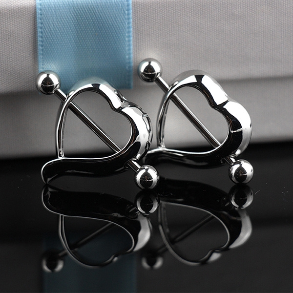 Heart, surgicalsteel, Fashion, Jewelry