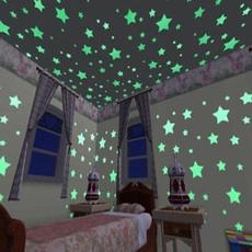 Dark, Decor, luminousfluorescent, Star