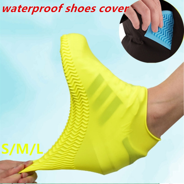 Overshoes Shoe Rain Waterproof Protector Covers Silicone Boot  Recyclable Cover