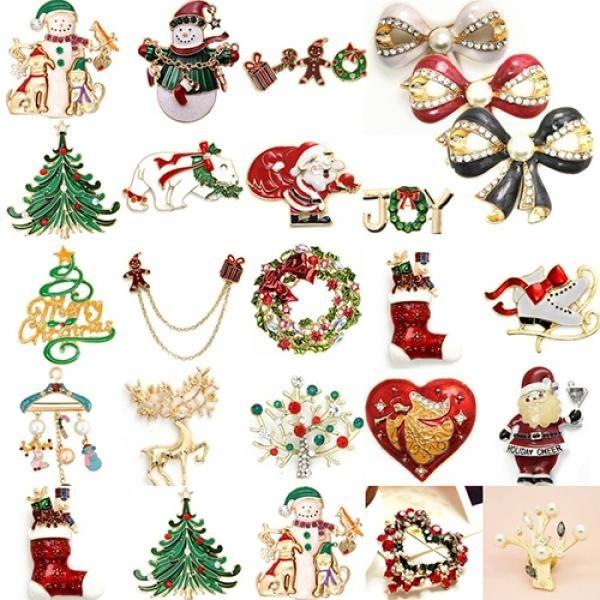 Jewelry, Gifts, enamelbrooch, Rhinestone Brooch