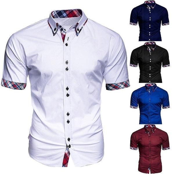 Summer, Plus size top, formal shirt, Shirt