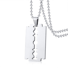 Steel, Chain Necklace, Stainless Steel, Jewelry