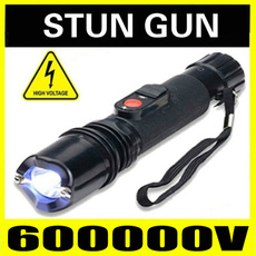 Flashlight, stungun, selfdefensestickflashlight, led