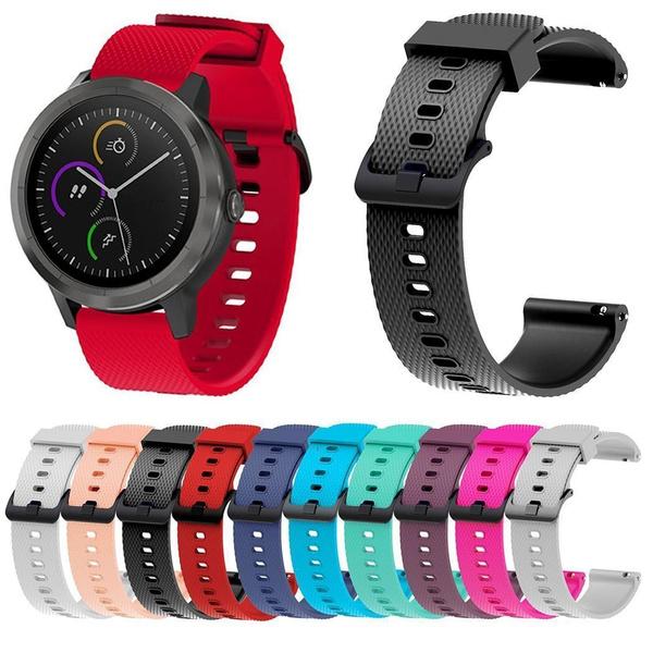 watchbandforvivomovehr, jewelry watch, Watch, bluewatchband