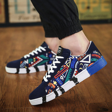 casual shoes, graffitishoe, Sneakers, Canvas